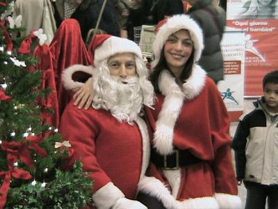 Babbo Natale E Gli Elfi.Babbo Natale Natalina Elfi Angeli Del Natale Con Chiarina
